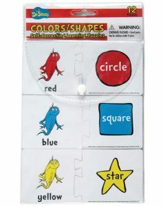 Dr Seuss Colours/Shapes Self-Correcting Learning Puzzles