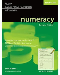 Numeracy Year 7 - NAPLAN* Format Practice Tests (Item No. 246)