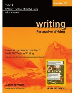 Writing Year 3 NAPLAN* Format Practice Tests 2011 edition #252