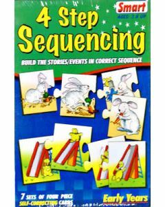 4 Step Sequencing (Ages 3+)