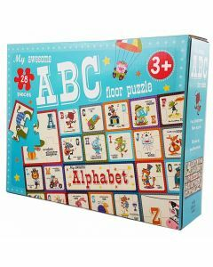 My Awesome ABC Floor Puzzle (Ages 3+)