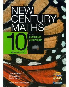 New Century Maths 10 for the Australian Curriculum NSW Stages 5.1/5.2 (Student Book with 4 Access Codes)