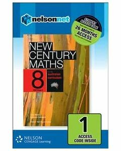 New Century Maths 8 for the Australian Curriculum NSW Stage 4 (1 Access Code)