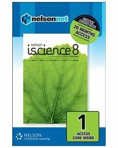 Nelson iScience 8 for NSW AC (1 Access Code)