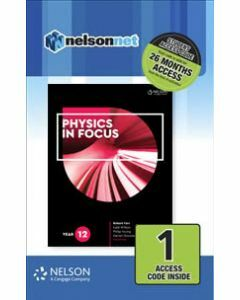 Physics in Focus Year 12 (1 Access Code)