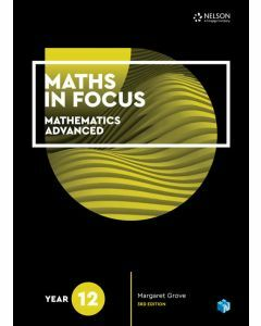 Maths in Focus Advanced Year 12 Student Book with 1 Access Code