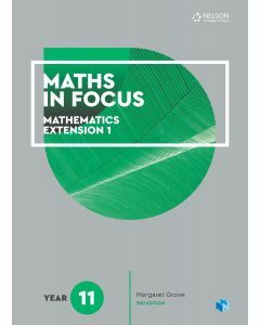 Maths in Focus Extension 1 Year 11 Student Book with 1 Access Code