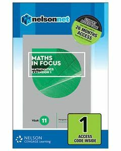 Maths in Focus Extension 1 Year 11 (1 Access Code)