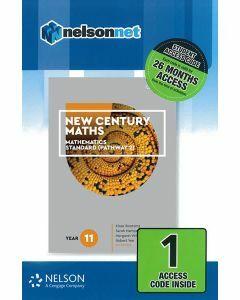 New Century Maths 11 Mathematics Standard 2 (1 Access Code)