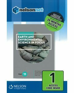 Earth and Environmental Science in Focus Year 11 (1 Access Code)