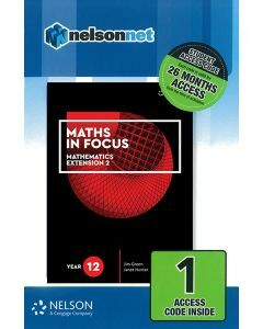 Maths in Focus Extension 2 Year 12 (1 Access Code)