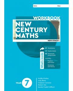 New Century Maths 7 Workbook