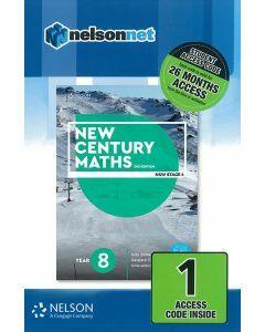 New Century Maths 8 2e Access Code (26-month)