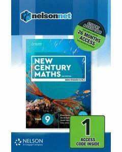 New Century Maths 9 (5.2) 2e Access Code (26-month)