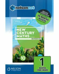 New Century Maths 10 (5.2) 2e Access Code (26-month)
