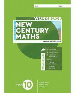 [Pre-order] New Century Maths 10 (5.2) Workbook [Due mid-2021]