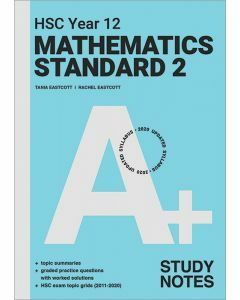 [Pre-order] A+ HSC Year 12 Mathematics Standard 2 Study Notes  [Due Jul 2021]