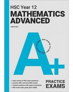 [Pre-order] A+ HSC Year 12 Mathematics Advanced Practice Exams [Due Jul 2021]
