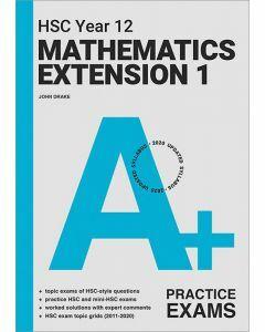 [Pre-order] A+ HSC Year 12 Mathematics Extension 1 Practice Exams [Due Aug 2021]