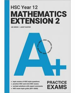 [Pre-order] A+ HSC Year 12 Mathematics Extension 2 Practice Exams [Due Sep 2021]