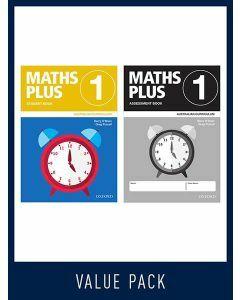 Maths Plus Australian Curriculum Student and Assessment Book 1, 2020