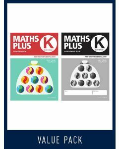 Maths Plus NSW Student and Assessment Book K Value Pack, 2020
