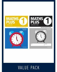 Maths Plus NSW Student and Assessment Book Year 1 Value Pack, 2020