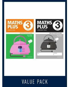 Maths Plus NSW Student and Assessment Book Year 3 Value Pack, 2020