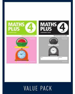 Maths Plus NSW Student and Assessment Book Year 4 Value Pack, 2020