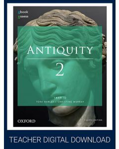 Antiquity 2 Year 12 4E Teacher obook assess (Teacher Access Code)