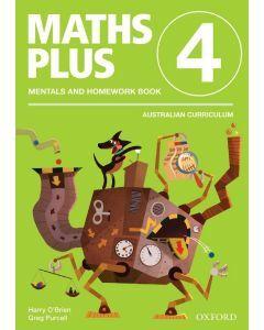 Maths Plus AC Edition Mentals & Homework 4