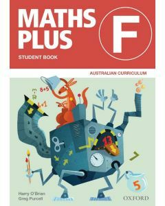 Maths Plus AC Ed Student and Assessment Book F Value Pack