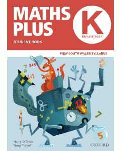 Maths Plus NSW Student and Assessment Book K Value Pack