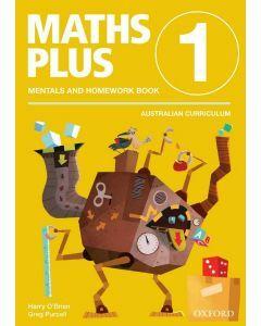 Maths Plus AC Edition Mentals & Homework 1
