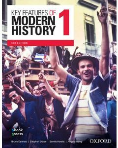 Key Features of Modern History 1 Year 11 5E Student book + obook assess