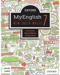 Oxford MyEnglish 7 NSW Student Book + obook assess