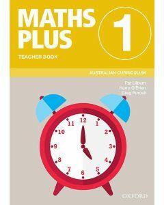 Maths Plus Australian Curriculum Teacher Book 1, 2020