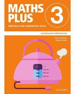 Maths Plus Australian Curriculum Mentals and Homework Book 3, 2020