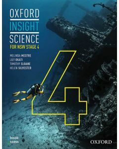 [Pre-order] Oxford Insight Science for NSW Stage 4 (2E) Student book + obook assess [Due Nov 2020]