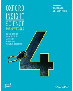 [Pre-order] Oxford Insight Science for NSW Stage 4 (2E) Skills and Activity Book [Due Dec 2020]