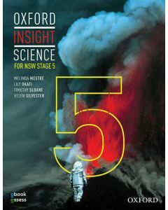 Oxford Insight Science for NSW Stage 5 (2E) Student book + obook assess