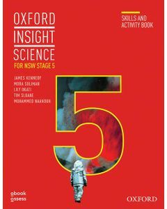 [Pre-order] Oxford Insight Science for NSW Stage 5 (2E) Skills and Activity Book [Due Jan 2021]