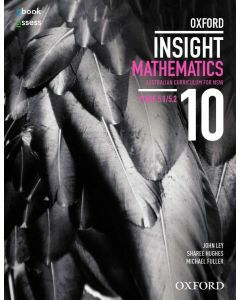 Oxford Insight Mathematics 10 5.1/5.2 AC for NSW Student Book + oBk/as