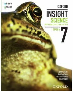 Oxford Insight Science 7 AC for NSW Student book + obook assess