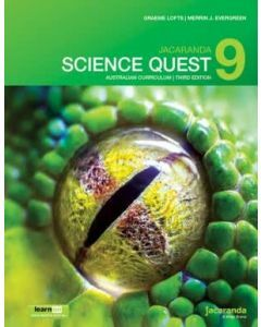 Jacaranda Science Quest 9 for the Australian Curriculum 3E learnON & Print