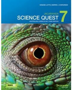 Jacaranda Science Quest 7 for the Australian Curriculum 3E learnON & Print