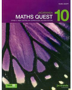 Jacaranda Maths Quest 10 Stage 5 NSW AC 2E LearnON & Print