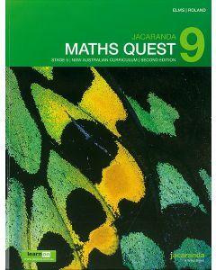 Jacaranda Maths Quest 9 Stage 5 NSW AC 2E LearnON & Print