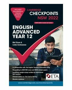 [Pre-order] Cambridge Checkpoints NSW English Advanced Year 12 2022 [Due Sep 2021]