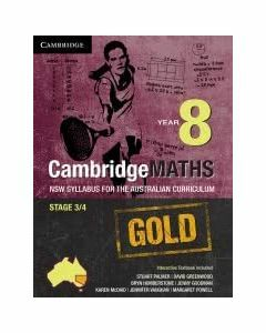 CambridgeMaths GOLD NSW for AC Year 8 (print and digital)